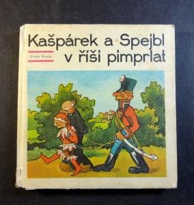 náhled knihy - Kašpárek a Spejbl v říši pimprlat