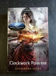 náhled knihy - Clockwork Princess