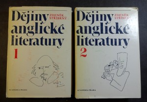 náhled knihy - Dějiny anglické literatur I. a II. díl