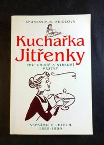 náhled knihy - Kuchařka Jitřenky pro chudé a střední vrstvy : sepsáno v letech 1889-1909