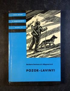 náhled knihy - Pozor - laviny!
