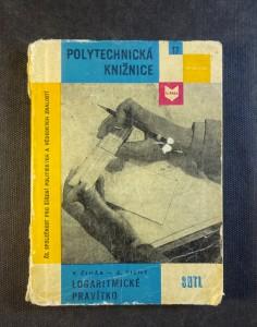 náhled knihy - Logaritmické pravítko