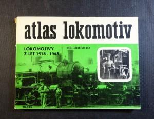 náhled knihy - Lokomotivy z let 1918-1945