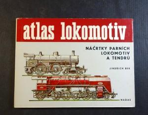 náhled knihy - Náčrtky parních lokomotiv a tendrů
