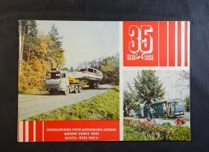 náhled knihy - 35 let národního podniku Československá státní automobilová doprava Brno (1949 - 1984)