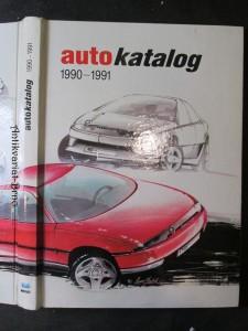 náhled knihy - Auto katalog 1990 - 1991