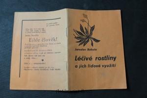 náhled knihy - Léčivé rostliny a jich lidové využití
