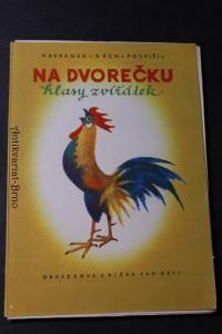 náhled knihy - Na dvorečku : hlasy zvířátek : obrázková knížka pro děti