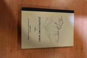 náhled knihy - Jugoslávské hory a řeky : Souhrn inf. pro vysokohorskou turistiku a inf. o sjízdnosti řek