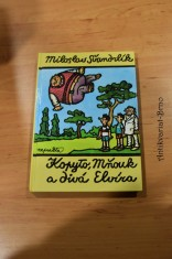 náhled knihy - Kopyto, Mňouk a divá Elvíra