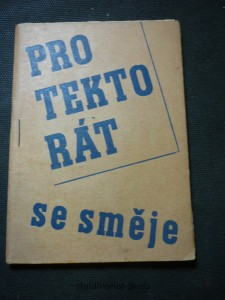 náhled knihy - Protektorát se směje : Doklad č. optimismu a protiněmeckého odboje v 2. světové válc