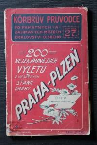 náhled knihy - Korbrův illustrovaný průvodce : 200 nejzajímavějších výletů z veškerých stanic dráhy Praha - Plzeň, část II. Z Hořovic do Plzně