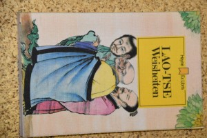náhled knihy - LAO-TSE Weisheiten