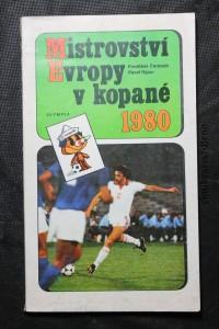 náhled knihy - Mistrovství Evropy v kopané 1980