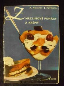 náhled knihy - Zmrzlinové poháry a krémy