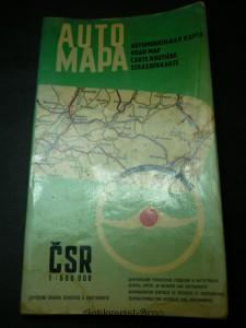 náhled knihy - automapa ČSR