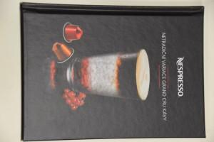 náhled knihy - Nespresso: netradiční variace Grand Cru kávy