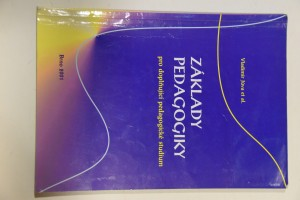 náhled knihy - Základy pedagogiky pro doplňující pedagogické studium