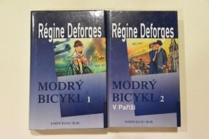 náhled knihy - Modrý bicykl. 1. a 2. díl