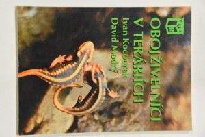 náhled knihy - Obojživelníci v teráriích