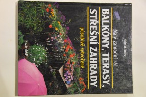 náhled knihy - Balkóny, terasy, střešní zahrady