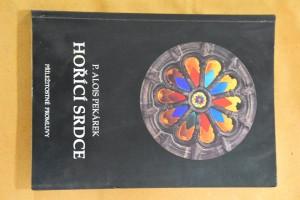 náhled knihy - Hořící srdce : příležitostné promluvy