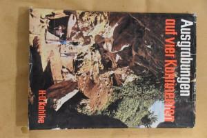 náhled knihy - Ausgrabungen auf vier Kontinenten. Polsky Wykopaliska z czterech kontynentów