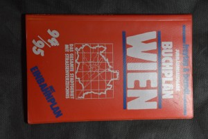 náhled knihy - Buchplan Wien 1:20 000
