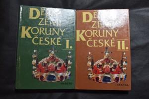 náhled knihy - Dějiny zemí Koruny české. I., II.