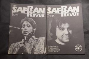 náhled knihy - Šafrán Revue 1990 1 a 2