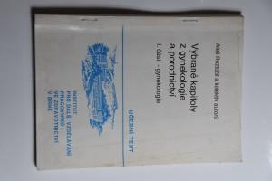 náhled knihy - Vybrané kapitoly z gynekologie a porodnictví. Část 1, Gynekologie