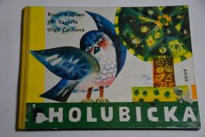 náhled knihy - Vyletěla holubička : Sbírka akvarelových studií a kreseb Boženy Vejrychové-Solarové doprovázená lid. písněmi našimi a rus. a verši našich básníků