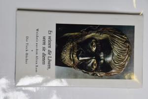náhled knihy - Es wissen die Löwen, wem sie dienen