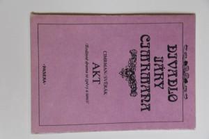 náhled knihy - Divadlo Járy Cimrmana Akt