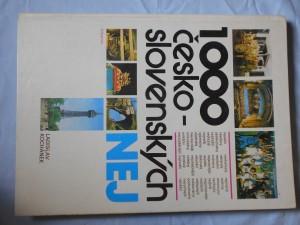 náhled knihy - 1000 česko-slovenských NEJ
