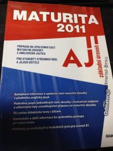 náhled knihy - Maturita 2011 - AJ : základní úroveň