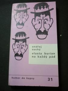 náhled knihy - Vlasta Burian na každý pád