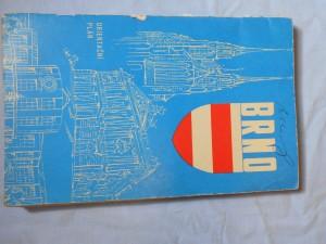náhled knihy - Brno : Orientační plán města : Měřítko 1:15000