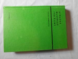 náhled knihy - Stručná mluvnice italštiny