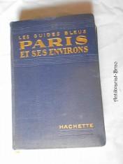 náhled knihy - Les Guides Bleus Paris et ses environs
