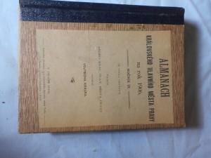 náhled knihy - Almanach Královského hlavního města Prahy na rok 1906