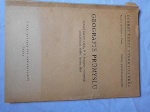náhled knihy - Geografie průmyslu : Vybr. kapitoly z kn. P.N. Stěpanova \