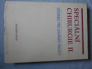 náhled knihy - Speciální chirurgie : učebnice pro lékařské fakulty
