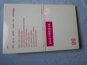 náhled knihy - Svědectví: čtvrtletník pro politiku a kulturu; ročník XXII., číslo 88.,