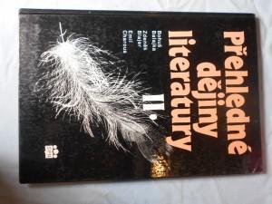 náhled knihy - Přehled dějin literatury II. (od první světové války do roku 1945)