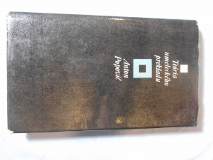 náhled knihy - Teória umeleckého prekladu : aspekty textu a literárnej metakomunikácie