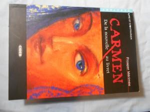 náhled knihy - Carmen De la nouvelle au livret