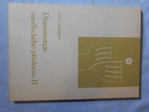 náhled knihy - Dramaturgie uměleckého přednesu : met. materiál