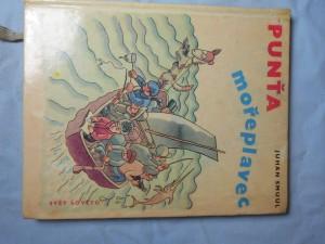 náhled knihy - Punťa mořeplavec