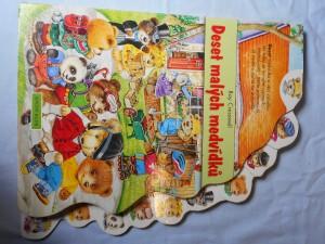 náhled knihy - Deset malých medvídků